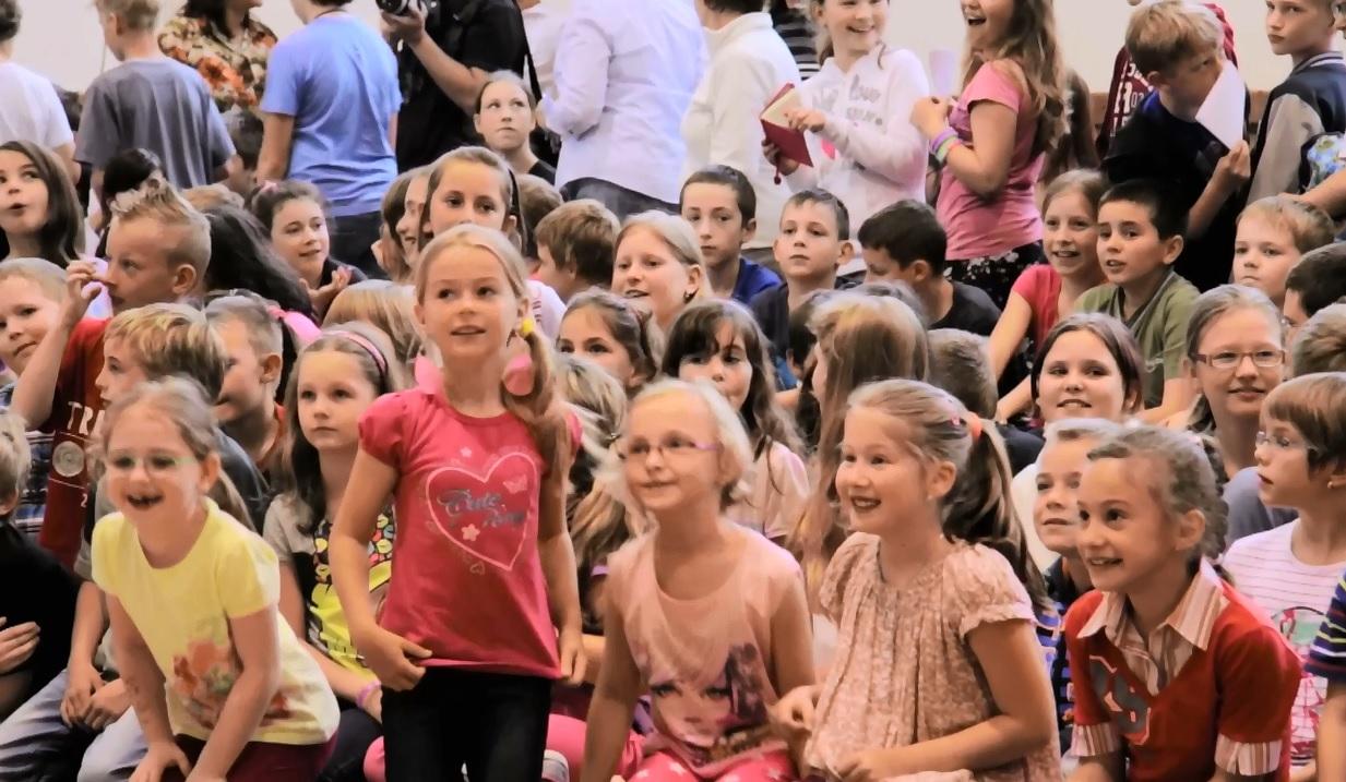 Olympijské hlídky znovu těší děti