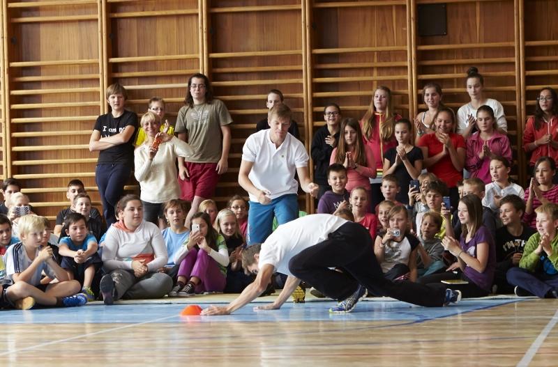 Sazka Olympijský víceboj láká 800 škol