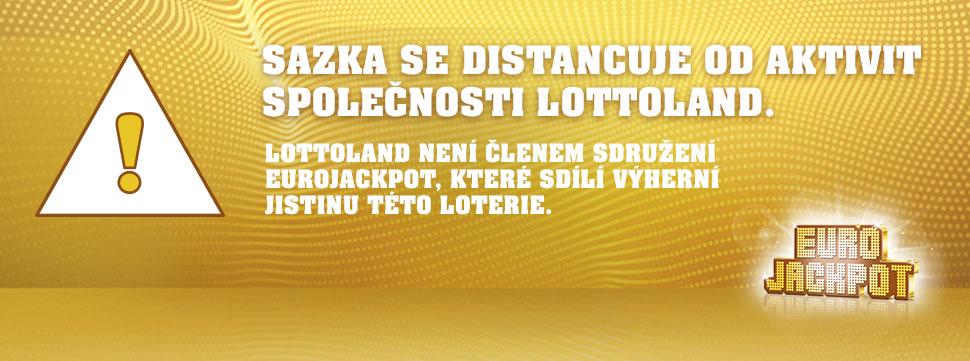 """Lottoland nabízí """"Eurojackpot"""" nelegálně"""