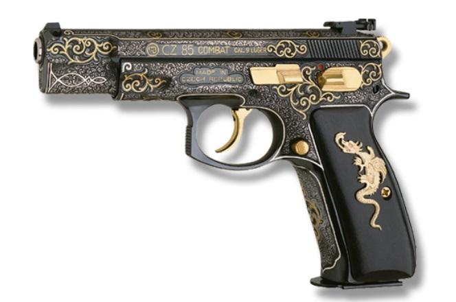 Moje pistole je jako ze zlata