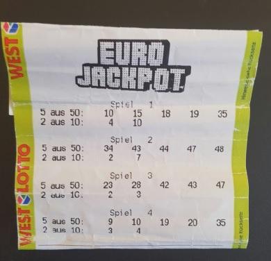 76 milionů eur padlo v Eurojackpotu v Německu