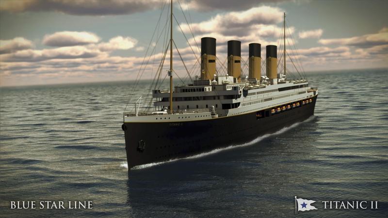 Staví se věrná kopie Titanicu