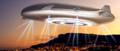 Létající vesnice pro miliardáře