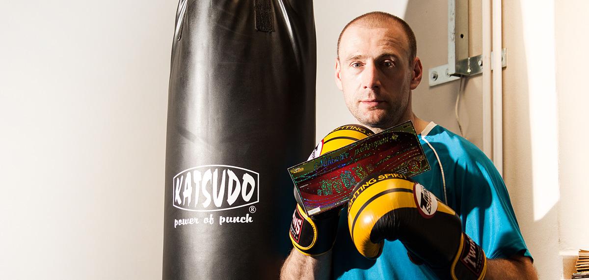 SAZKA reportér: chtěl bych mít vlastní tělocvičnu, říká boxer Bob