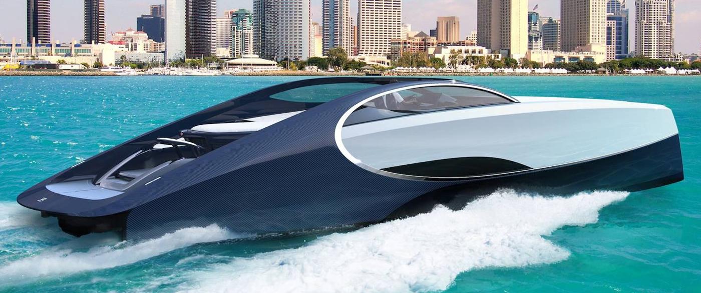 Tahle jachta budoucnosti za 100 milionů má i ohniště