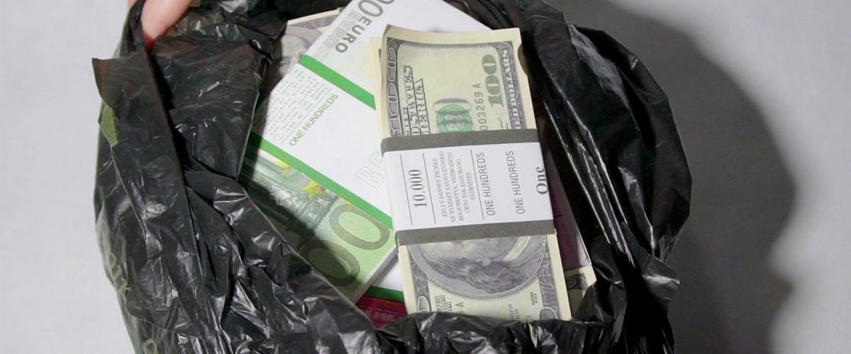 Zapomenutý batoh obsahoval 7,7 milionu