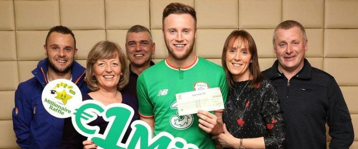 Irský fotbalista vyhrál milion eur