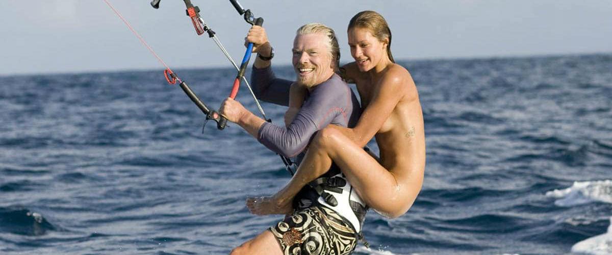 """Richard Branson: miliardář, který to umí """"rozjet"""""""