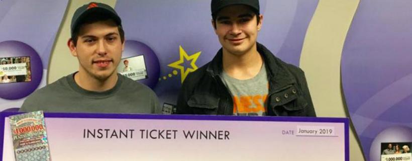 Mladík dostal k narozeninám tiket, vyhrál na něj 23 milionů