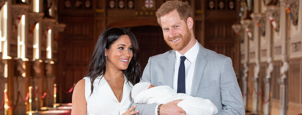 Královský Archie: miminko za miliony