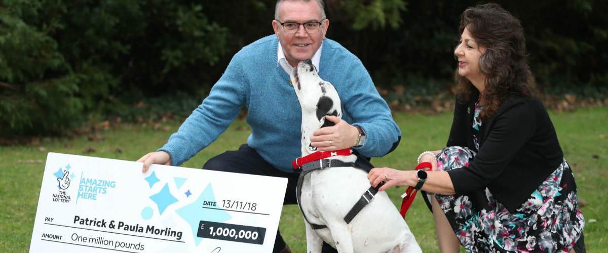 Vybíravý pes přinesl manželům výhru milion liber