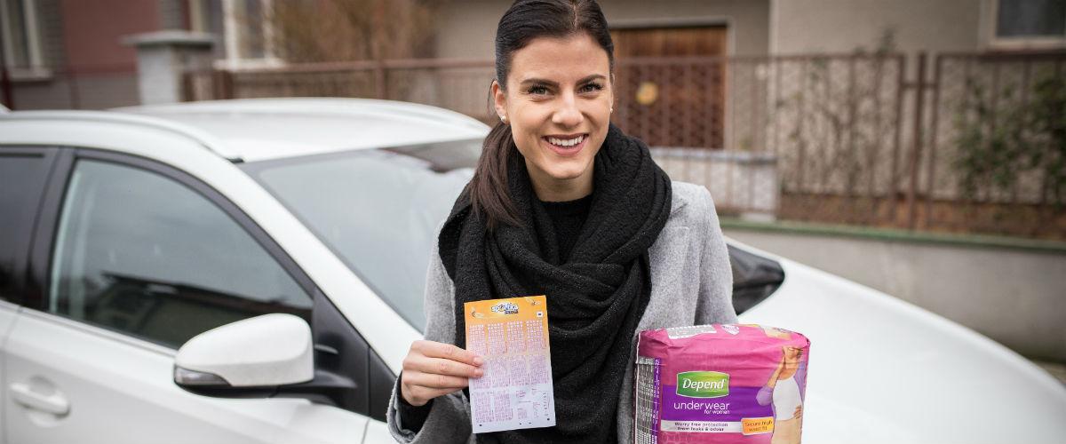 SAZKA reportér: Obchodní zástupkyně Denisa si v dopravních špičkách zpívá