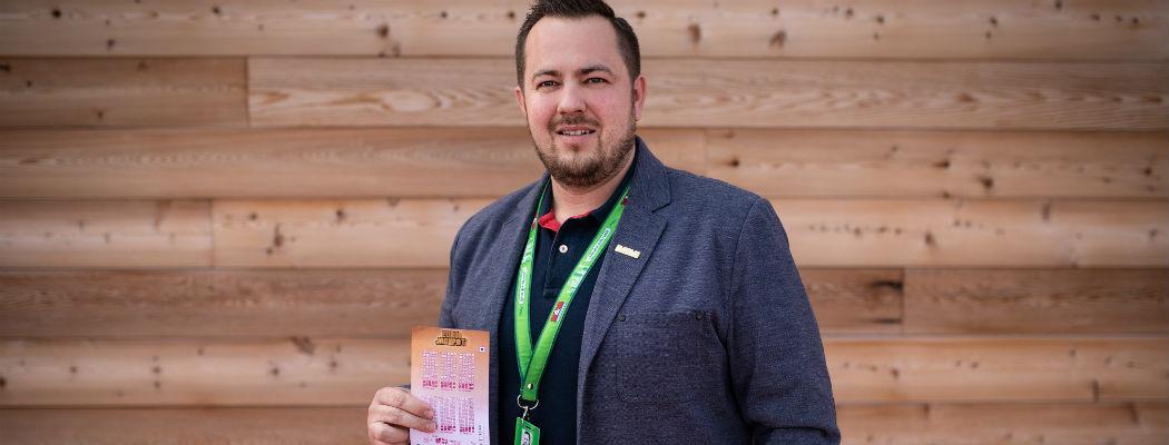 SAZKA reportér: Díky chytře investované výhře v loterii se z Martina stane rentiér