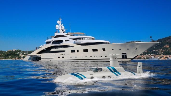 Nové hračky miliardářů: ponorky