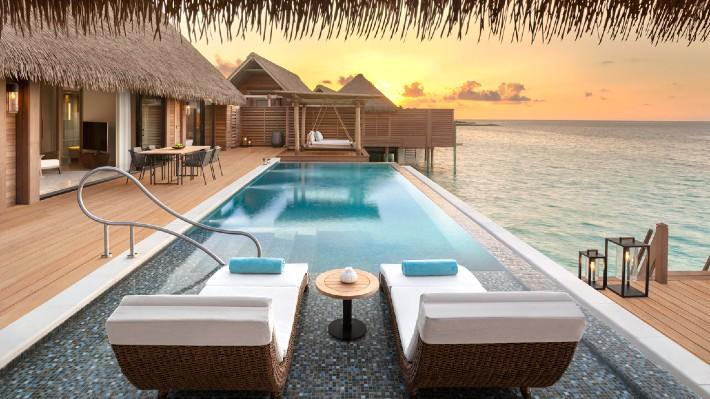 Opravdu luxusní dovolená? Noc na soukromém ostrově na Maledivách vyjde na 1,8 milionu