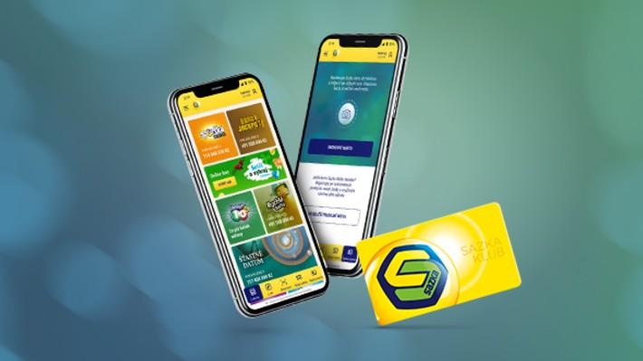 Kartu Sazka Klubu si lze nově přidat do aplikace Sazky