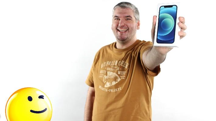 Muž z Prostějova vyhrál díky loňským milionářským statistikám Sazky nový iPhone 12