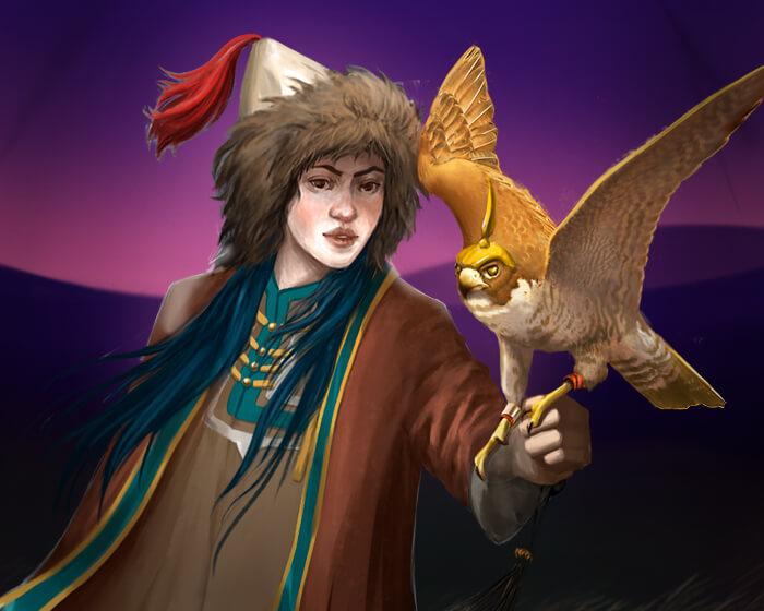 Falcon Huntress