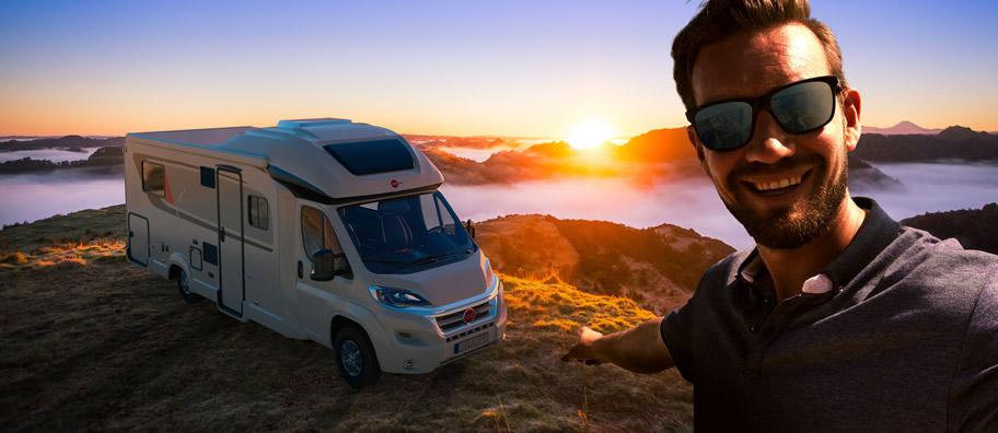 Luxusní karavan