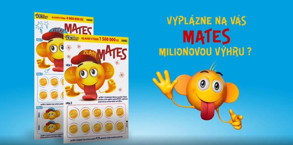 Vyplázne na vás Mates milionovou výhru?