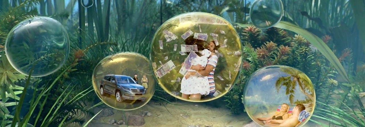 Zlatá rybkasplní 3 přání