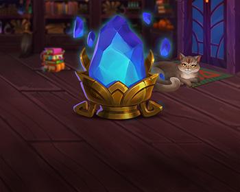 Magický krystal - obrázek