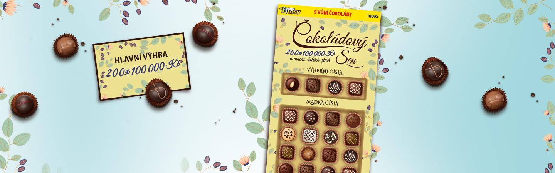 Čokoládový sen - Banner