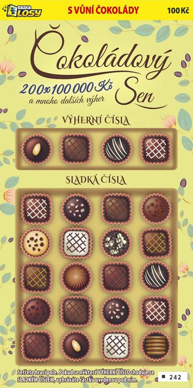 Čokoládový sen - náhled losu