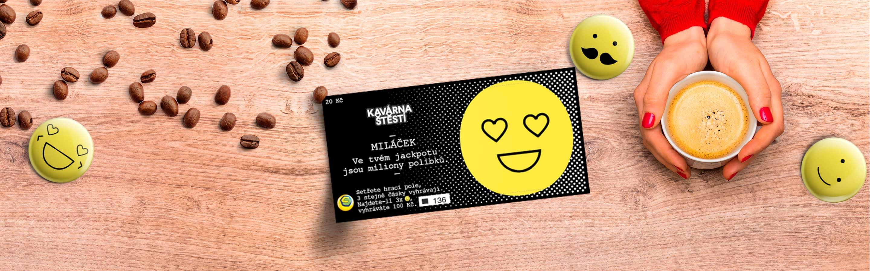 Kavárna štěstí - Banner
