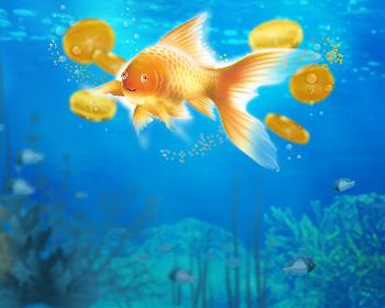 Maxi Zlatá rybka - obrázek