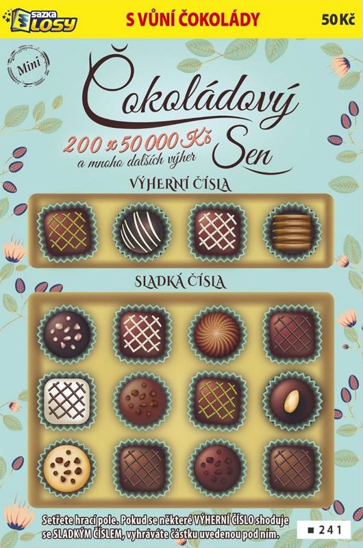 Mini Čokoládový sen - náhled losu