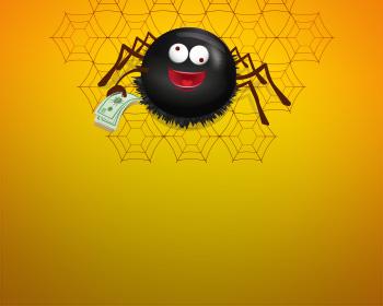 Pavouček štěstí - obrázek