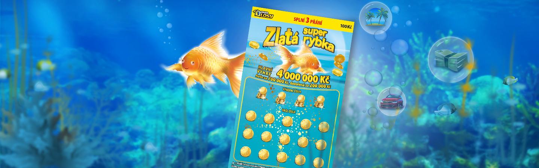 Super Zlatá rybka - Banner
