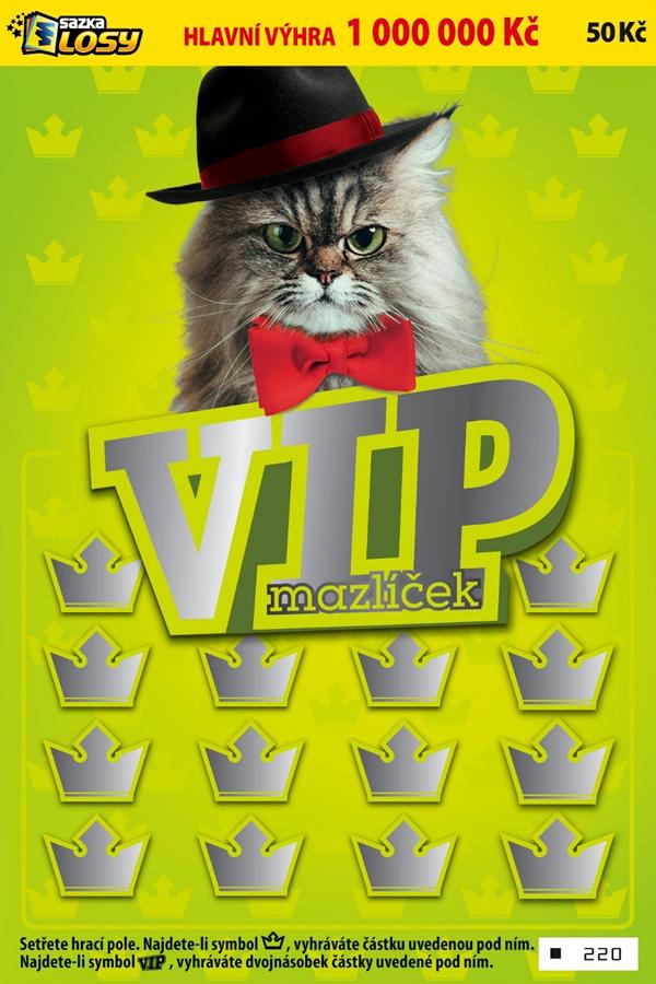 VIP mazlíček - náhled losu