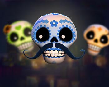 Esqueleto Explosivo - obrázek