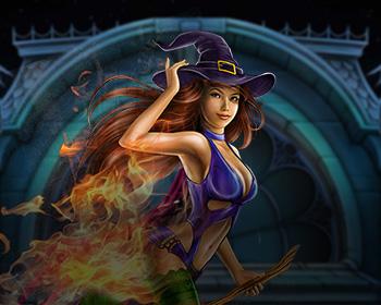Fire Witch - obrázek