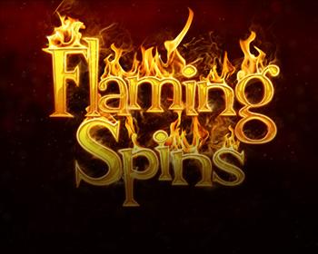 Flaming Spins - obrázek