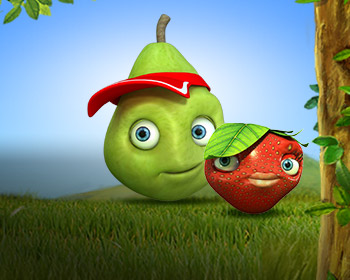 Fruity Friends - obrázek