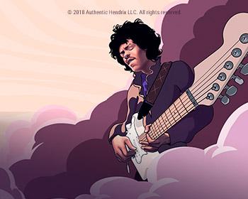 Jimi Hendrix - obrázek