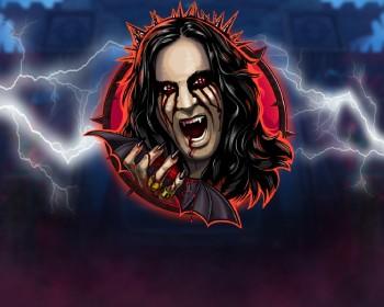 Ozzy Osbourne video slot - obrázek