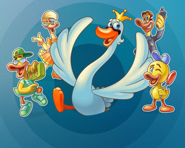 Scruffy Duck - obrázek