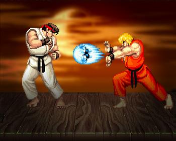 Street Fighter II - obrázek