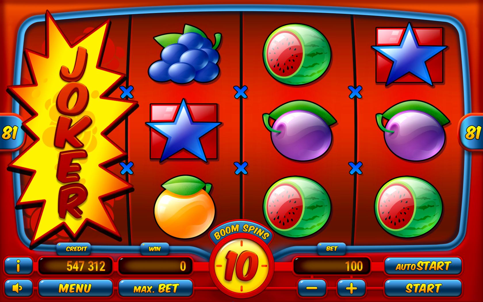 Obrázek - Automat vyplácí výhry criss-cross