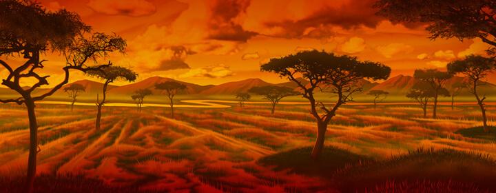 Hry - Savanna Sunrise